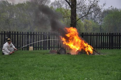 Jak dřevohostičtí během staletí bojovali s ohnivým kohoutem