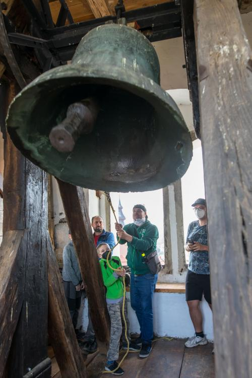 Poslední zvonění zvonu Maria